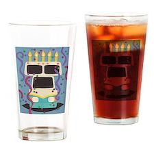 RV Birthday Drinking Glass