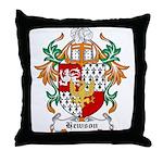 Hewson Coat of Arms Throw Pillow