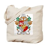 Hewson Coat of Arms Tote Bag