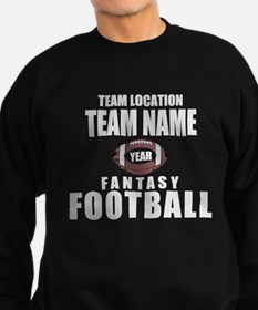 Your Team Fantasy Gray Sweatshirt (dark)