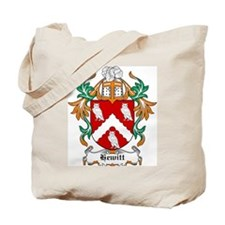 Hewitt Coat of Arms Tote Bag