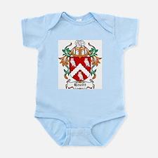 Hewitt Coat of Arms Infant Creeper
