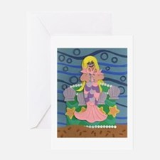 Mermaid Princess Greeting Card