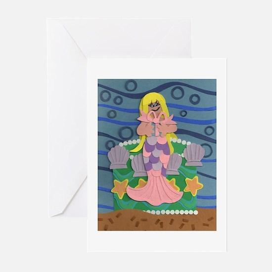 Mermaid Princess Greeting Cards (Pk of 20)