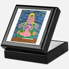 Mermaid Princess Keepsake Box