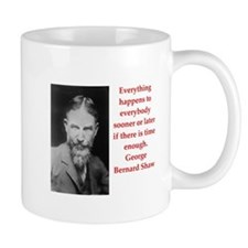 george bernard shaw quote Mug