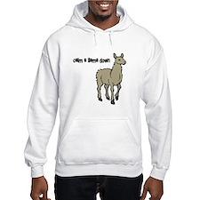 Calm a Llama down Hoodie