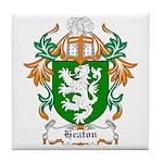 Heaton Coat of Arms Tile Coaster
