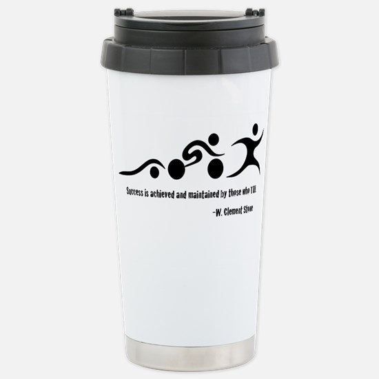 Triathlon Stainless Steel Travel Mug