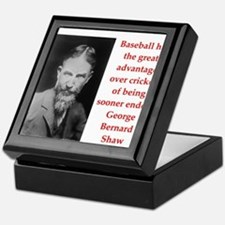 george bernard shaw quote Keepsake Box