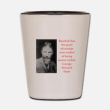 george bernard shaw quote Shot Glass