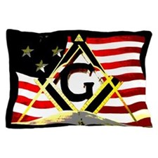 American Masonic Pillow Case