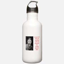 george bernard shaw quote Water Bottle