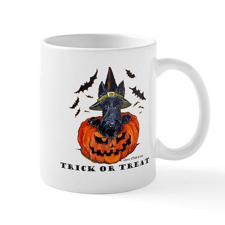 Scottie Witch Mug