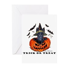 Scottie Witch Greeting Cards (Pk of 10)