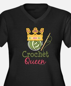 CrochetQueen Plus Size T-Shirt