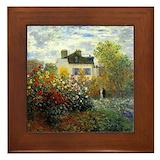 Monet Framed Tiles