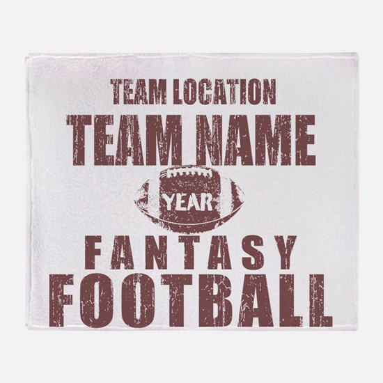 Distressed Personalized Fantasy Football Classic