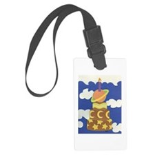 Space Cake Luggage Tag