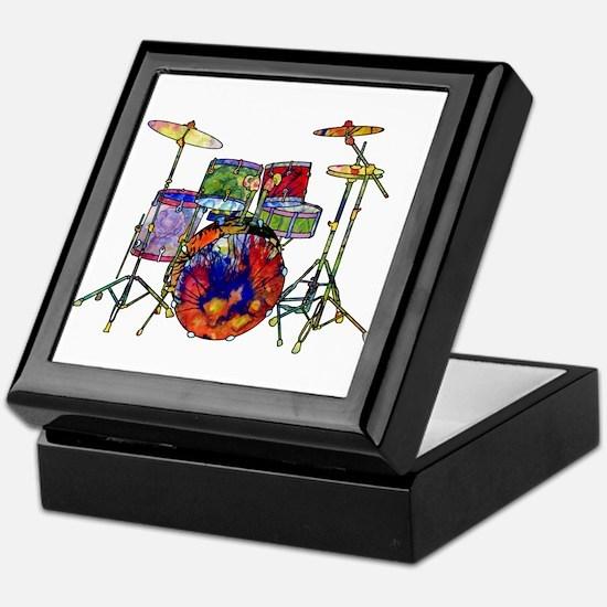 Wild Drums Keepsake Box