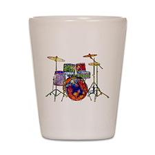 Wild Drums Shot Glass