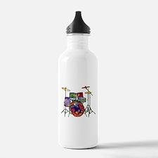 Wild Drums Water Bottle