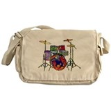 Drumers Canvas Messenger Bags