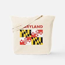 Flag of Maryland Tote Bag