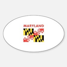 Flag of Maryland Decal
