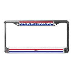 Paraguay Flag License Plate Frame