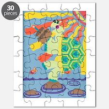 Birthday Turtle Puzzle