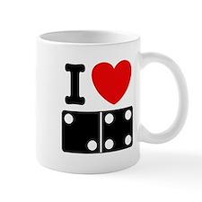 I Love Dominoes Mug