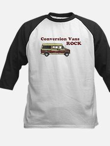 Conversion Vans Rock Kids Baseball Jersey