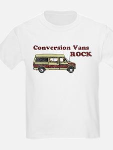 Conversion Vans Rock Kids T-Shirt