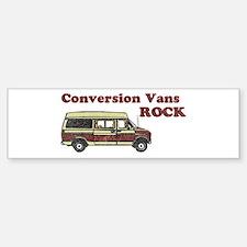 Conversion Vans Rock Bumper Stickers