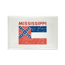 Flag of Mississippi Rectangle Magnet