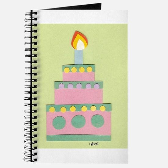 Mini Pink Cake Journal