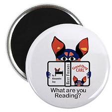 "Reading Dog 2.25"" Magnet (10 pack)"