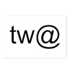 Tw@ (twat) Postcards (Package of 8)
