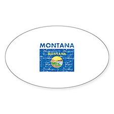 Flag of Montana Decal