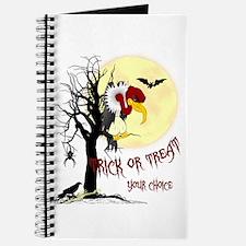 Creepy Buzzard Trick or Treat Journal