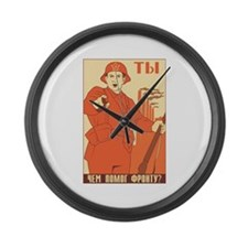 Red Army Large Wall Clock
