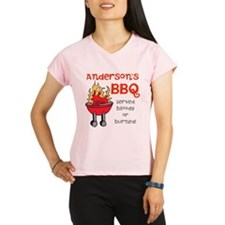 Personalized BBQ Performance Dry T-Shirt