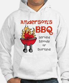 Personalized BBQ Hoodie