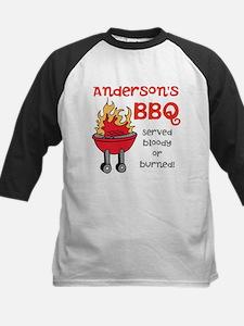 Personalized BBQ Kids Baseball Jersey