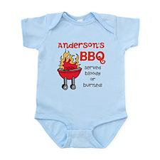 Personalized BBQ Infant Bodysuit