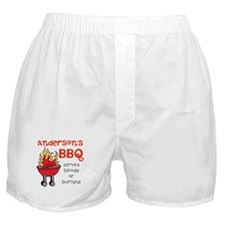 Personalized BBQ Boxer Shorts