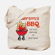 Personalized BBQ Tote Bag