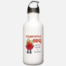 Personalized BBQ Water Bottle