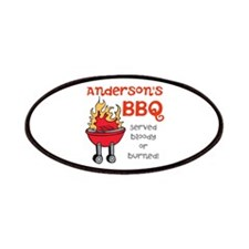 Personalized BBQ Patches